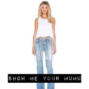 Show Me Your Mumu Flirty Fringe Top